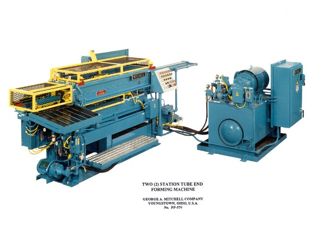 Two Station Forming Machine